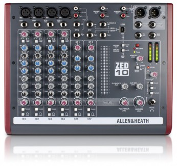 Allen & Heath ZED-10 Mengtafel