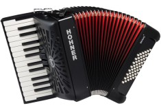 Hohner Bravo II 48 bas Accordeon silent key