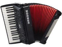 Hohner Bravo III 96 bas Accordeon silent key