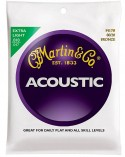 Martin M170 extra light snarenset western