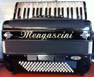 Mengascini 96 bas Accordeon