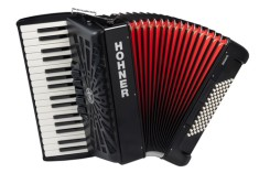 Hohner Bravo III 72 bas ZW Accordeon silent key
