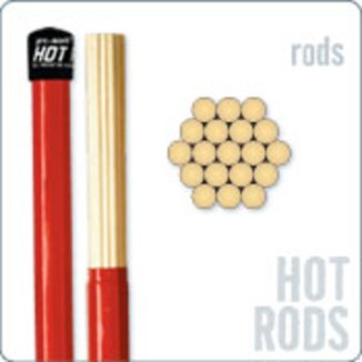 promark hot rods drumstokken van ginkel muziekwinkel. Black Bedroom Furniture Sets. Home Design Ideas