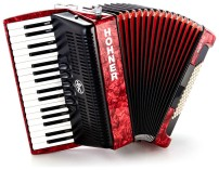 Hohner Bravo III 72 bas RD Accordeon (design 2)